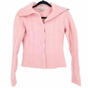 Tommy Hilfiger Sweater Wool Angora Rabbit Pink M